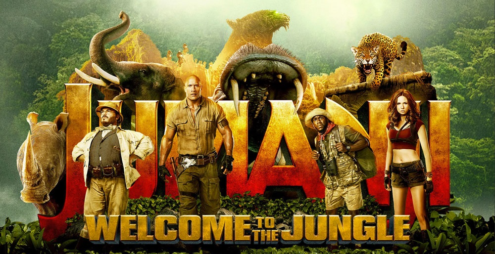 Jumanji: Welcome to the Jungle(2017)