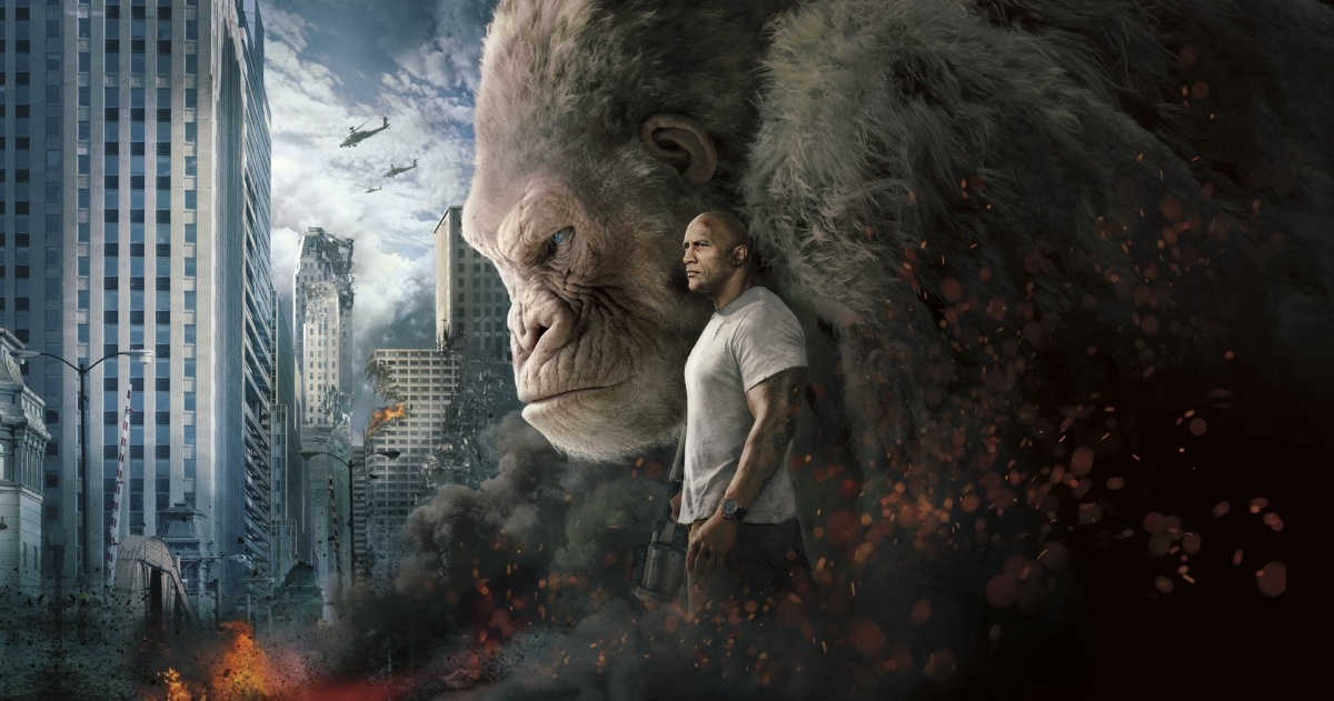 Rampage (2018) – MovieReview